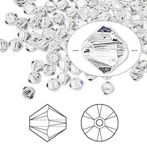 Swarovski Crystal Beads Bicone Crystal 4mm (Packet of 10pcs )-0